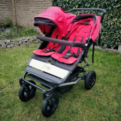 Mountain Buggy Duet met 2x Carrycot plus (2015)