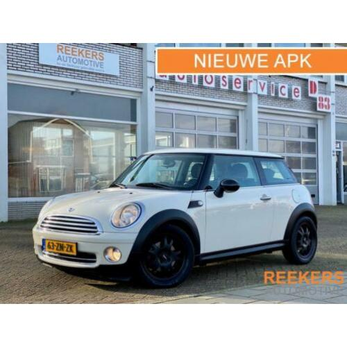 Mini ONE COOPER PEPPER 1.4 VTI ?95PK AURCO MOOIE AUTO!